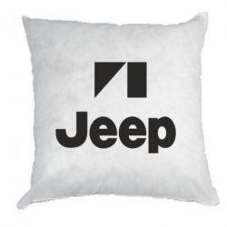 Подушка Jeep Logo