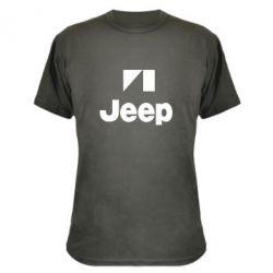 Камуфляжная футболка Jeep Logo