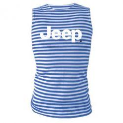 Майка-тельняшка Jeep
