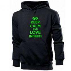 Толстовка KEEP CALM and LOVE INFINITI