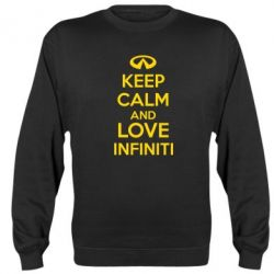 Реглан KEEP CALM and LOVE INFINITI