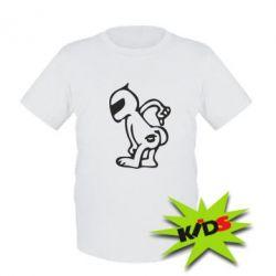 Детская футболка Kiss my racer`s ass