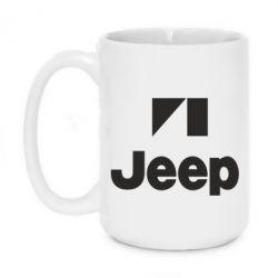 Кружка 420ml Jeep Logo