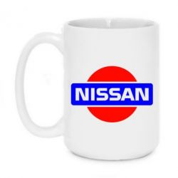 Кружка 420ml Logo Nissan