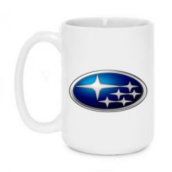 Кружка 420ml Subaru 3D Logo