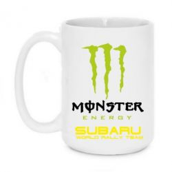 Кружка 420ml Subaru Monster Energy