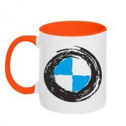 Кружка двухцветная BMW Graffity