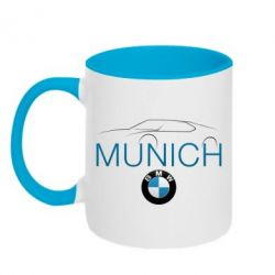 Кружка двухцветная BMW Munich