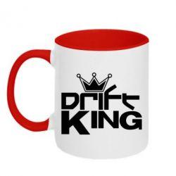 Кружка двухцветная Drift King