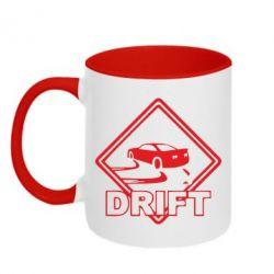 Кружка двухцветная Drift - PrintSalon