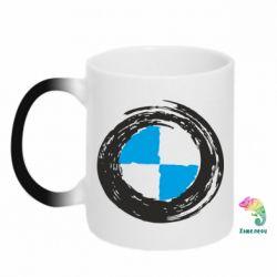 Кружка-хамелеон BMW Graffity