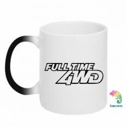 Кружка-хамелеон Full time 4wd - PrintSalon