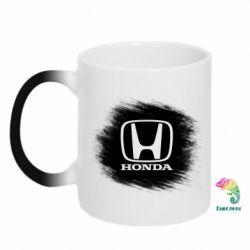 Кружка-хамелеон Хонда арт, Honda art