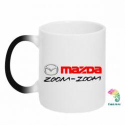 Кружка-хамелеон Mazda Zoom-Zoom