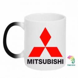 Кружка-хамелеон Mitsubishi small