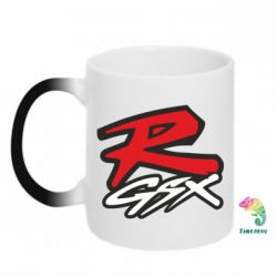 Кружка-хамелеон Suzuki GSX-R Logo