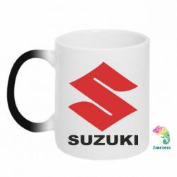 Кружка-хамелеон Suzuki - PrintSalon