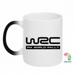 Кружка-хамелеон WRC - PrintSalon