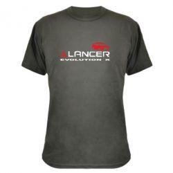 Камуфляжная футболка Lancer Evolution X