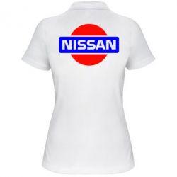 Женская футболка поло Logo Nissan
