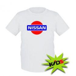 Детская футболка Logo Nissan