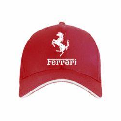 кепка логотип Ferrari