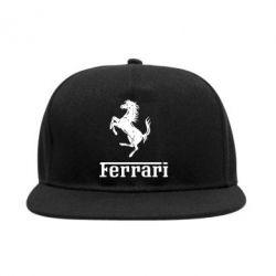 Снепбек логотип Ferrari