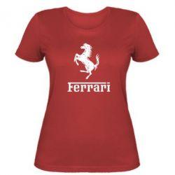 Женская логотип Ferrari