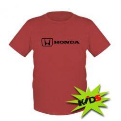 Детская футболка Логотип Honda - PrintSalon