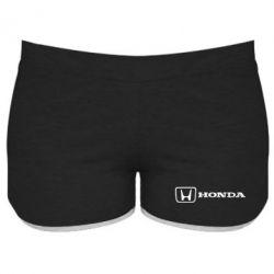 Женские шорты Логотип Honda - PrintSalon