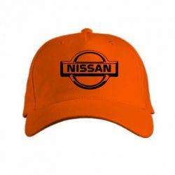 кепка логотип Nissan - PrintSalon