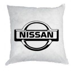 Подушка логотип Nissan - PrintSalon