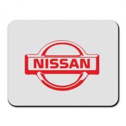 Коврик для мыши логотип Nissan - PrintSalon
