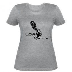 Женская футболка Low Style