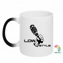 Кружка-хамелеон Low Style