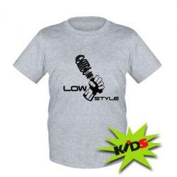 Детская футболка Low Style