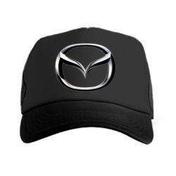 Кепка-тракер Mazda 3D Small Logo