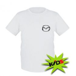 Детская футболка Mazda 3D Small Logo