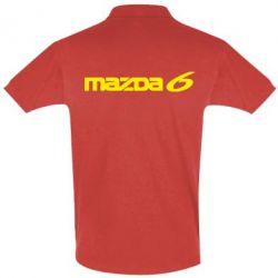 Футболка Поло Mazda 6 - PrintSalon