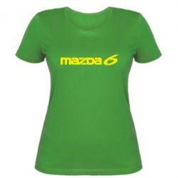 Женская Mazda 6 - PrintSalon