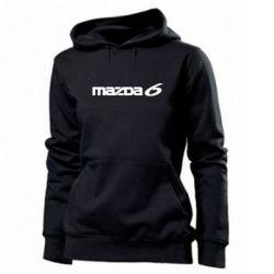 Женская толстовка Mazda 6 - PrintSalon
