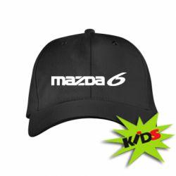 Детская кепка Mazda 6 - PrintSalon