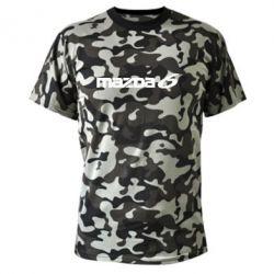 Камуфляжная футболка Mazda 6 - PrintSalon
