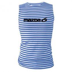 Майка-тельняшка Mazda 6 - PrintSalon