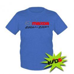 Детская футболка Mazda Zoom-Zoom