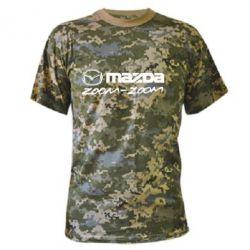 Камуфляжная футболка Mazda Zoom-Zoom