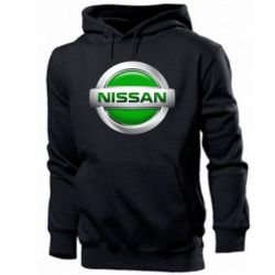 Мужская толстовка Nissan Green