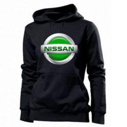 Женская толстовка Nissan Green