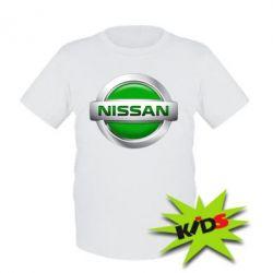 Детская футболка Nissan Green
