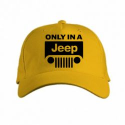 кепка Only in a Jeep - PrintSalon